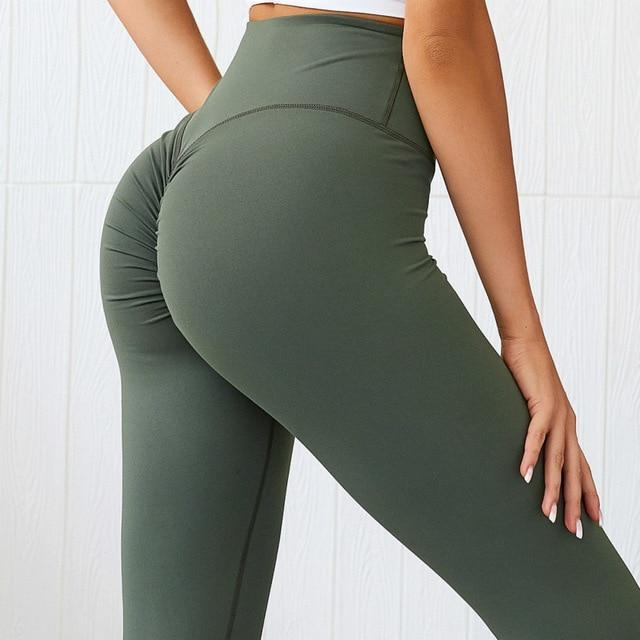 Sandie Cheeks Leggings Army Green / XS Up-Lift Leggings