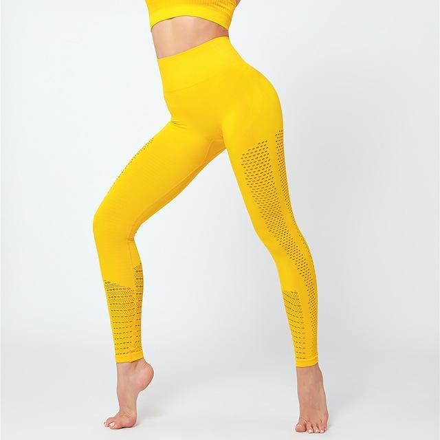SC Apparel - Official Store | Find What Moves You  Leggings Yellow / S Legacy Seamless Leggings