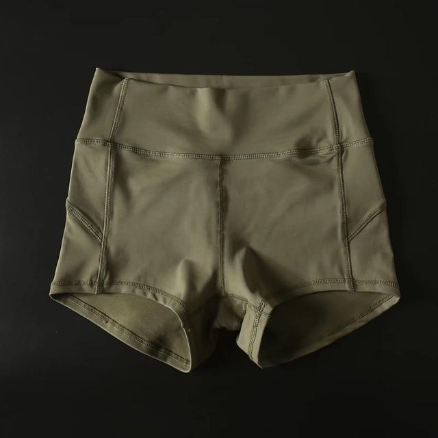 Sandie Cheeks shorts Army Green / S Flex High Waist Shorts