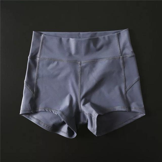 Sandie Cheeks shorts Light Purple Gray / S Flex High Waist Shorts