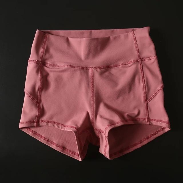 Sandie Cheeks shorts Merlot red / S Flex High Waist Shorts