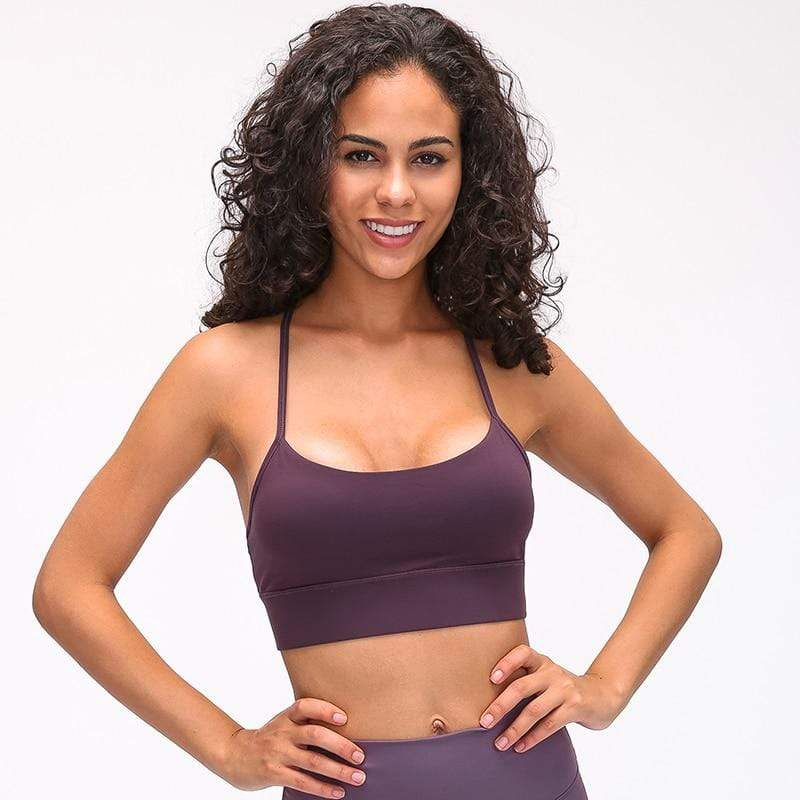 SC Apparel Company Sports Bra Cropped Y-Type Sports Bra