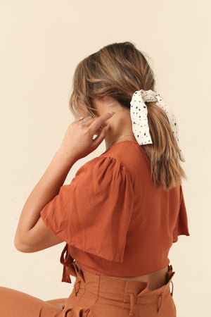 Wild Rina | WildRina.com | Star Hair Scrunchie