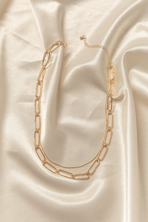 Staple Chain Necklace