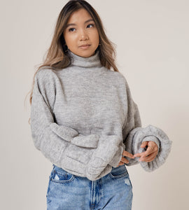 Slow Morning Sweater - Grey