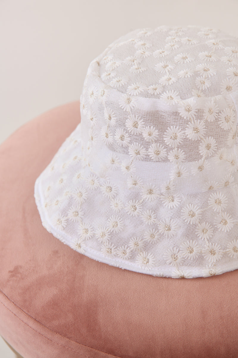 Miss Daisy Mesh Bucket Hat