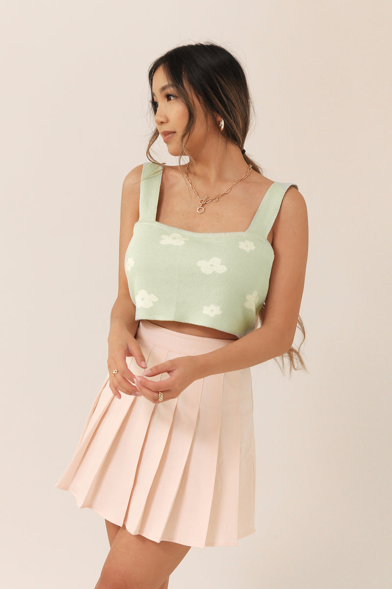 Blooming Crop Top