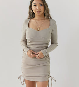Toast Ruched Dress