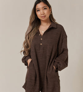 Sleepover Knit Romper