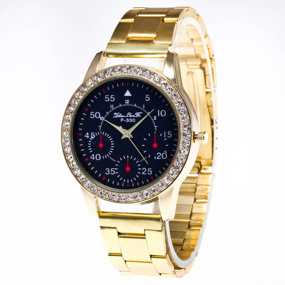 Women's Watch Diamond Stainless Steal, Special Dial