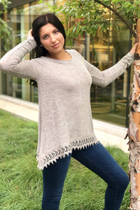Shop Ivybridge - Aspen Trimmed Sweater