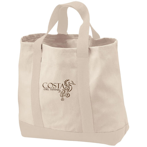 Costa del Tennis Canvas Tote bag
