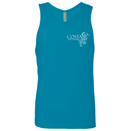 Costa del Tennis Men's Cotton Tennis Tank