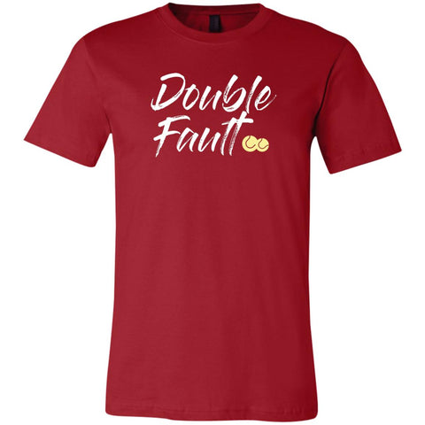 Double Fault Basic Short-Sleeve Tennis T-Shirt
