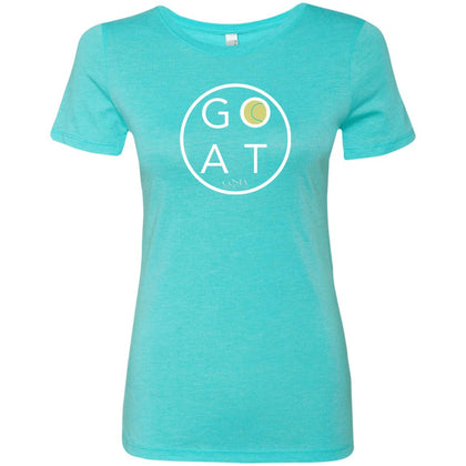 GOAT Ladies' Triblend Tennis T-Shirt