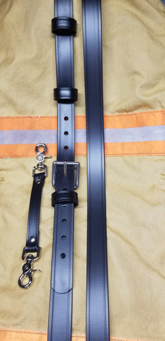 Safer Radio Strap™ - LM Blackout South Metro Wide Series 1.5 Width - Safer Strap Radio Strap - Firefighter Radio Strap
