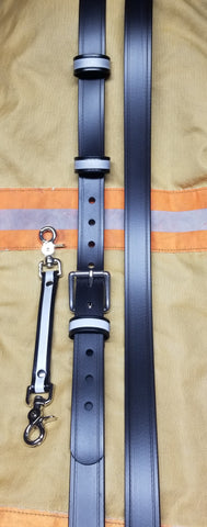 Safer Radio Strap™ - LM South Metro Wide Series 1.5 Width - Safer Strap Radio Strap - Firefighter Radio Strap