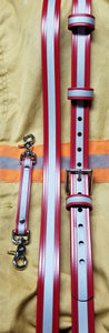 Safer Radio Strap™ - LMR Red Hot High Reflective Series