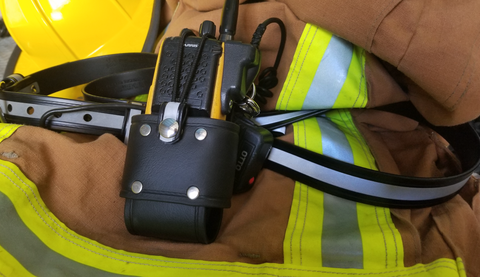 SaferStraps™ Bio Bucket S1 Universal Radio Holster - Safer Strap  - Firefighter Radio Strap