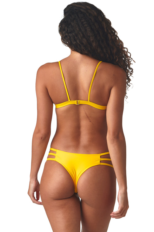 Yum Yum Yellow Peek-a-Boo Bottom