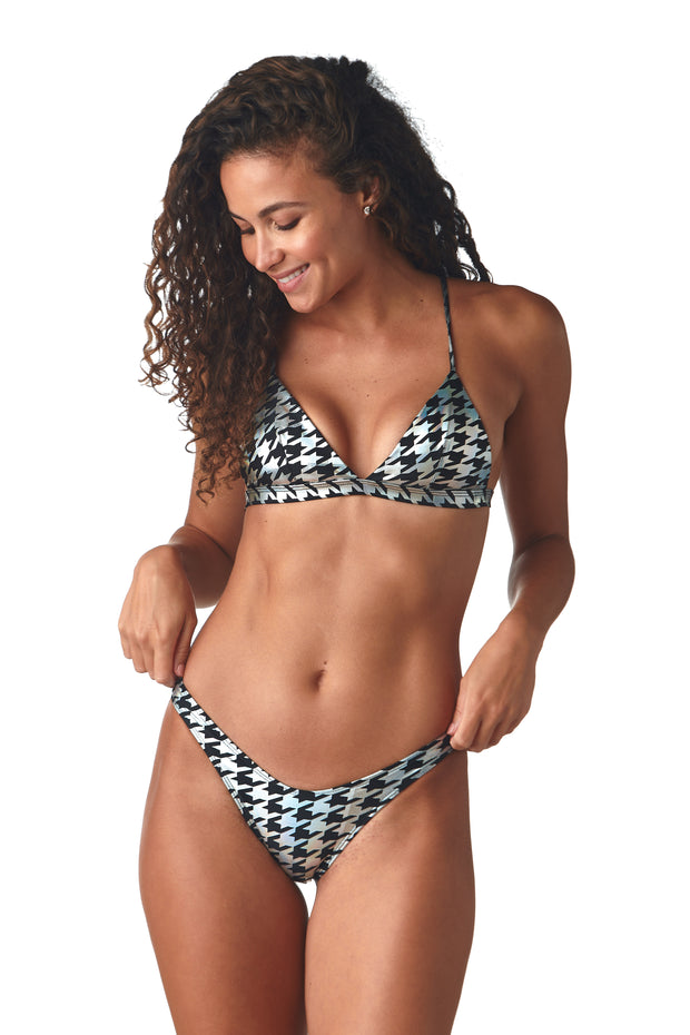 Houndstooth Radical Top