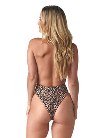 Leopard Shelly One Piece