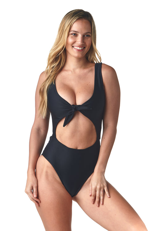 Black Tie Up Luna One Piece