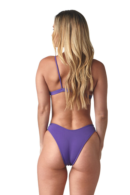 Ribbed Violet St. Maarten Bottom