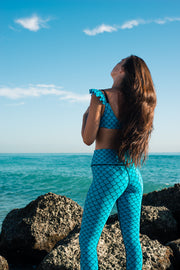 Cobalt Mermaid Legging