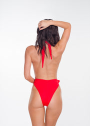 Red Shelly One Piece