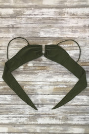 Olive Compass Top