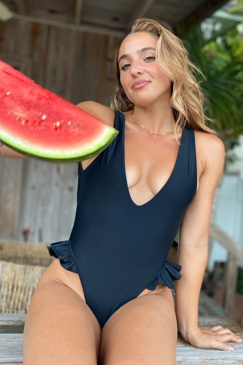 Black Bonita One Piece