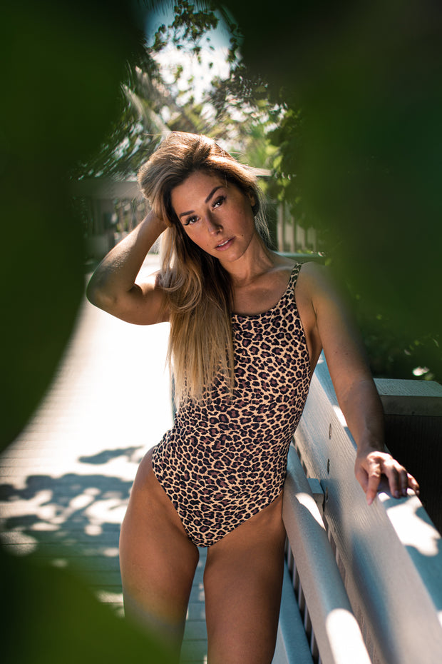 Leopard Corisca One Piece