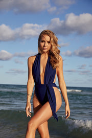 Navy Shelly One Piece
