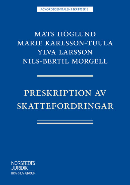 Preskription av skattefordringar