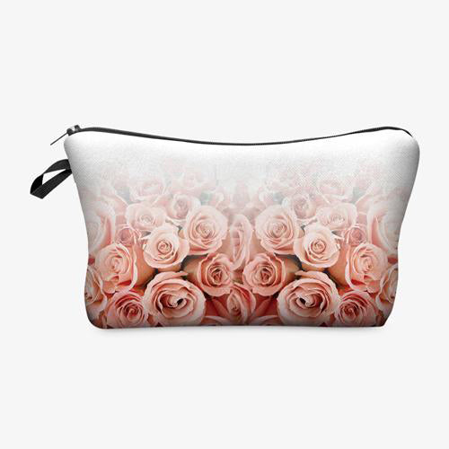 Cosmetic Case - Roses
