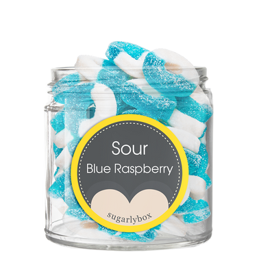 SOUR BLUE RASPBERRY RINGS