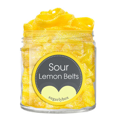 SOUR LEMON BELTS