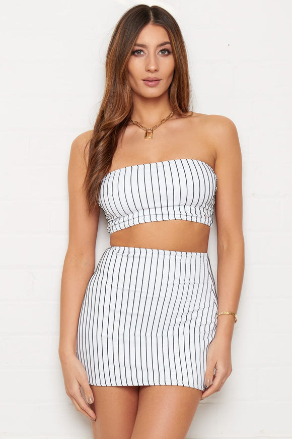 Pinstripe Co-Ord Set
