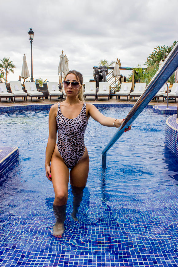 Mono Leopard Swimsuit