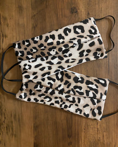 Mono Leopard Face Mask