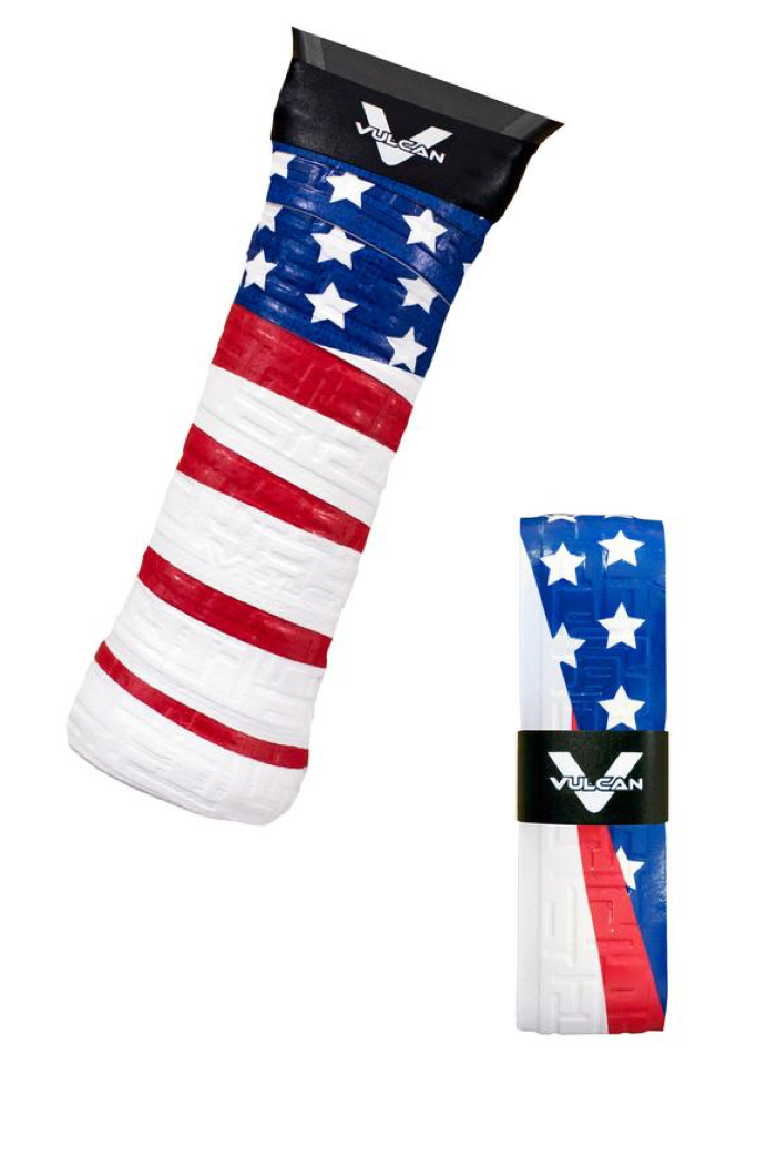 Vulcan Max™ Cool Pickleball Overgrips (3 pk.) Old Glory.