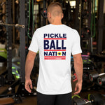 Short-Sleeve Unisex T-Shirt: PICKLEBALL NATION™