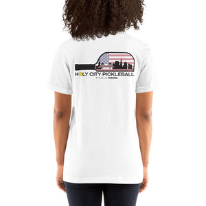 Canvas 3001 Unisex Short Sleeve Jersey T-Shirt with Tear Away Label Bella
