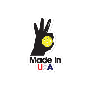 Bubble-free stickers: MADE IN USA