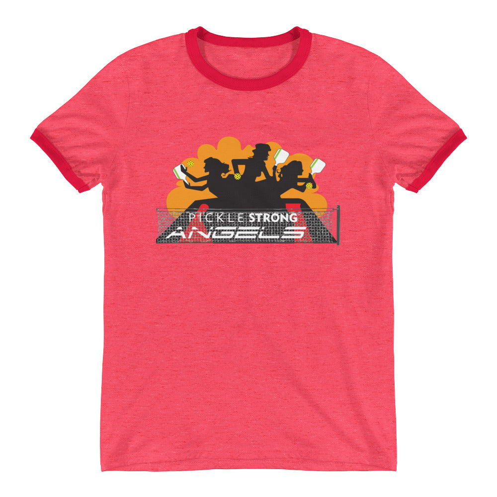 Ringer T-Shirt: PICKLESTRONG™ ANGELS