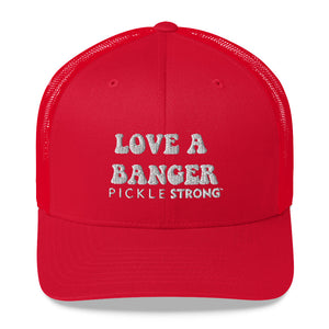 Trucker Cap: LOVE A BANGER