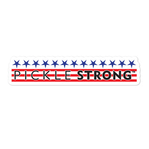 Bubble-free stickers: PICKLESTRONG™ STARS/STRIPES