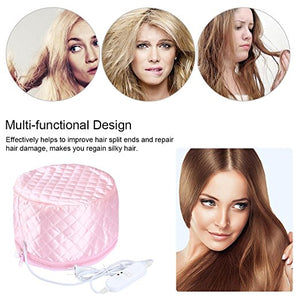 Hair Care & Styling Caps, Foils & Wraps Thermal Treatment Electric Hair Dye Perm Beauty Steamer Spa Care Cap Massage New
