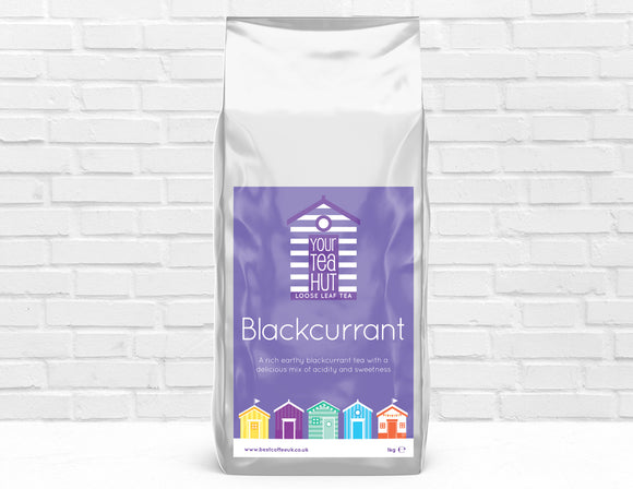 Your Tea Hut Loose Leaf Blackcurrant Tea Best Coffee UK
